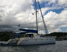 Venezia 42 : Martinique anchorage